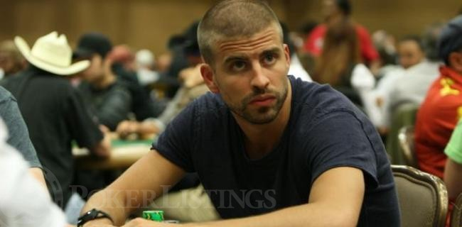 Out of World Cup, Gerard Piqué Draws into World Series of Poker