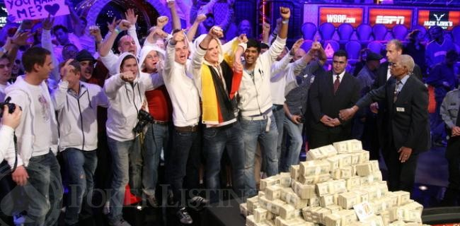 2011 WSOP November Nine Final Table Picture Book