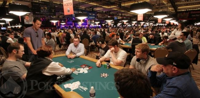 Seeing the WSOP for the First Time (Again)