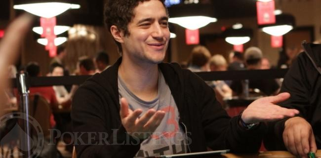 WSOP Photo of the Day: Jon Aguiar Reacts to WSOP Retweet
