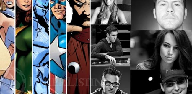 Marvel Poker Super Heroes: 10 Poker Heroes Unmasked at the Table