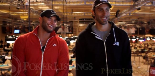 Brothers Fabio and Roberto Luongo Together at WSOP (Video)