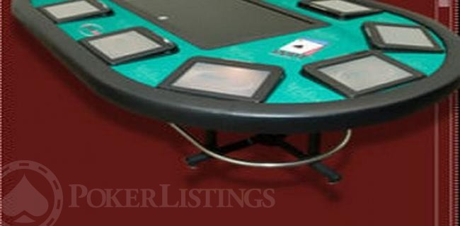How do electronic poker tables work professional poker chips