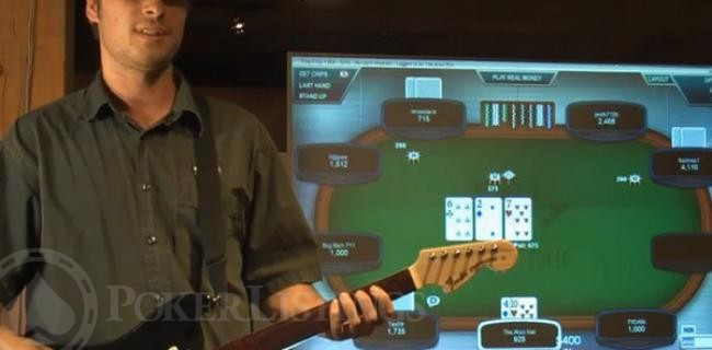 Rad How-To: Play Poker with Your Rock Band Guitar