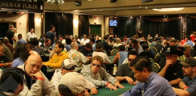 City of Angels: Day 1a at the Legends of Poker