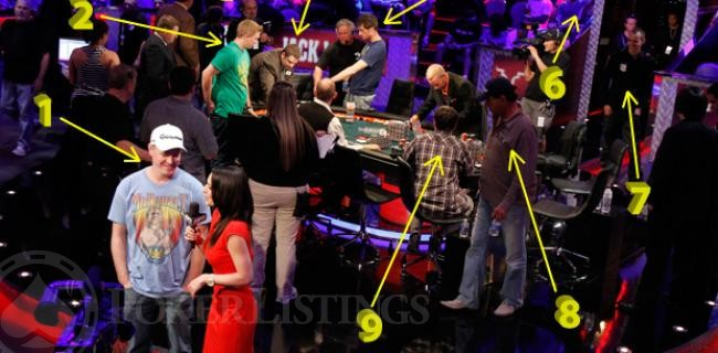 WSOP Photo By Numbers - The 2011 November Nine