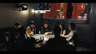 Oceans 11 Poker Scene Home Game