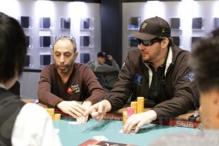 Phil Hellmuth and Barry Greenstein