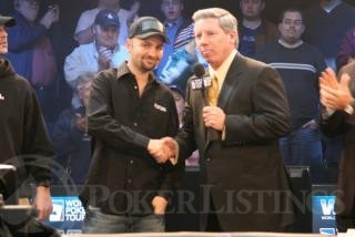 Daniel Negreanu and Mike Sexton