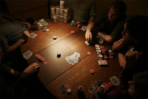 no poker home games
