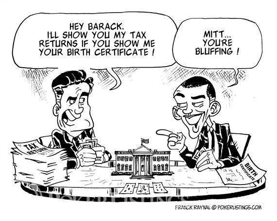 Obama vs Romney Poker Bluff