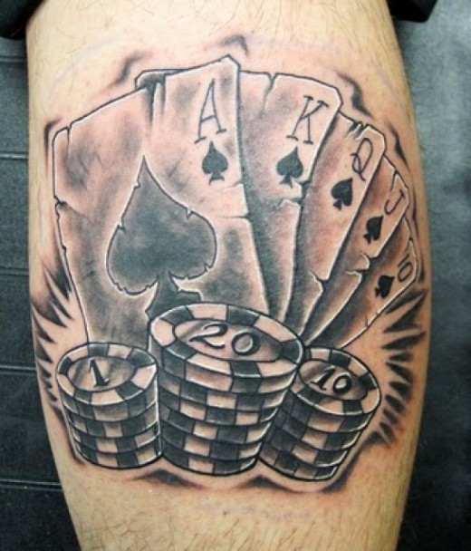 Poker Tattoo Vorlagen